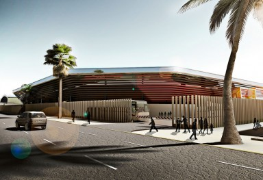 Preliminary design of  Al Talaba sports club.