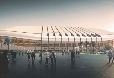 New Stadium of Salahedin