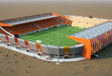 Football stadium 30K Nicosia (Cyprus)
